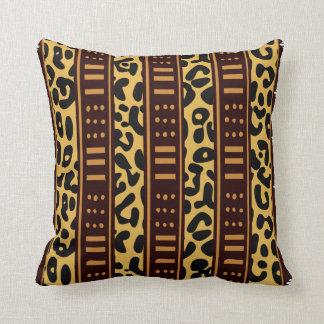 African Mud Cloth Decorative Pillows Zazzle Ca