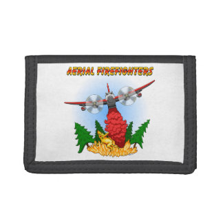 Muddy™ Aerial Firefighters Tri-fold Wallets