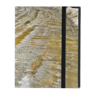 Muddy Dirt Road iPad Folio Case