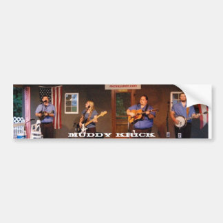Muddy Krick Bumper Sticker