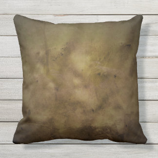 MUDDY MOSSY EARTH TONES AND TEXTURES throw cushion