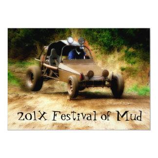 Muddy Mudfest Dunebuggy 4x4ing  event Card