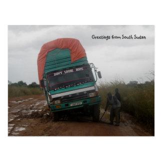 Muddy Road Postcard