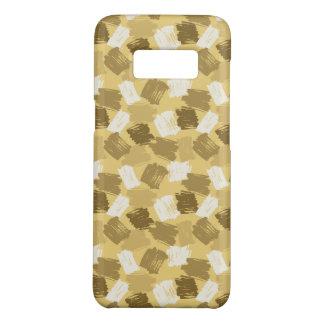 Muddy Yellow Dabs Pattern Case-Mate Samsung Galaxy S8 Case