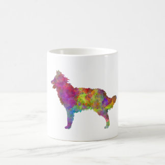 Mudi in watercolor 2 coffee mug