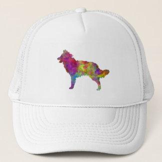 Mudi in watercolor 2 trucker hat