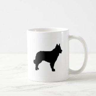 mudi silhouette coffee mug