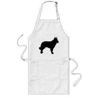 mudi silhouette long apron