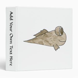 Mudskipper Fish. Vinyl Binder