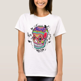 Muerte Day of the Dead Illustration T-Shirt
