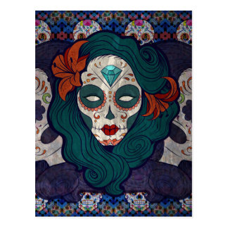 Muerto Ladies Postcard