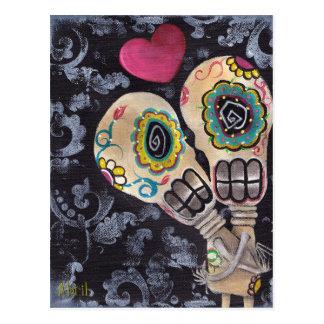 Muertos de Amor Postcard