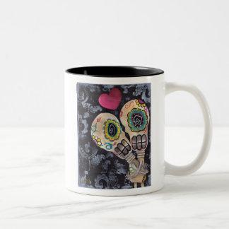 Muertos de Amor Two-Tone Coffee Mug