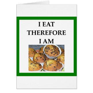 muffin card