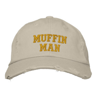 MuffinMan Embroidered Hat
