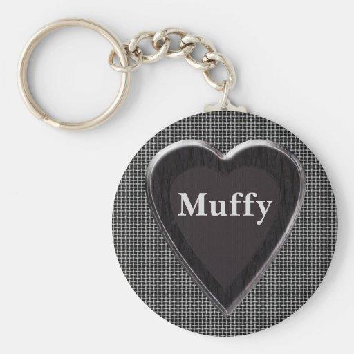 Muffy Stole My Heart Keychain