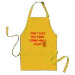 mug[1], Don't Kiss the Cook, Bring him a BEER! Standard Apron