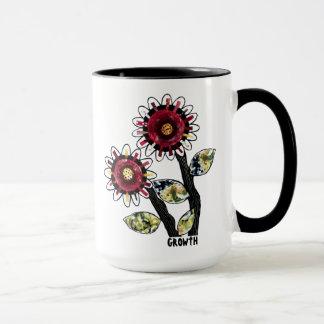 Mug 1 - Floral Abstract