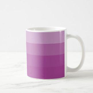 Mug 4 tones rosa/4 tone pink mug