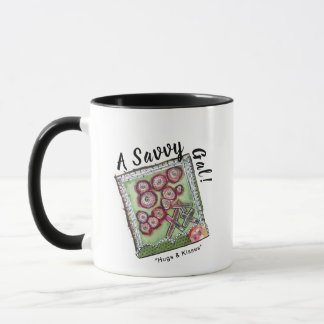 Mug - A Savvy Gal! with Stretching the Boundaries