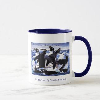 Mug / Adelie Penguins North of Franklin Island