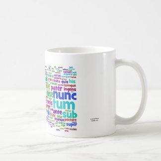 mug: aeneid 200 main words coffee mug