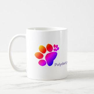Mug - All Thumbs Polydactyl Pawprints