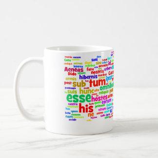 mug: ap latin 200 main words coffee mug