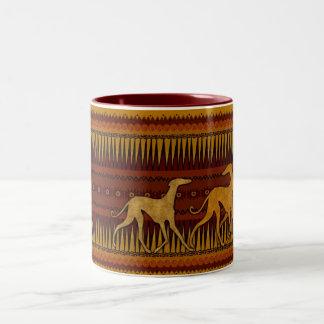 Mug Azawakhs stylized