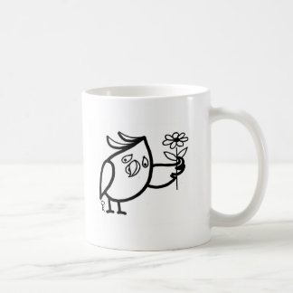Mug B&W cockatoos funny cute australian