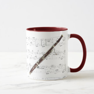 Mug - Bassoon with sheet music