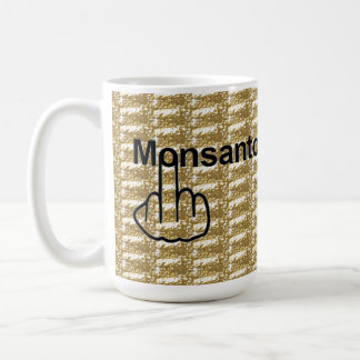 Mug Bird Flipping Monsanto Flip