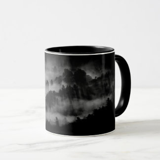 "Mug black forest ""alone """