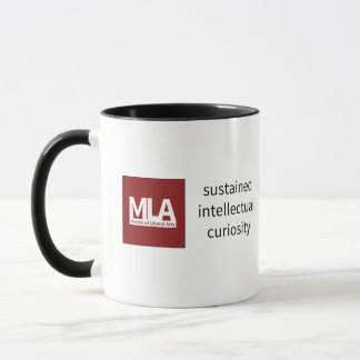 "Mug Black w ""sustained intellectual curiosity"""