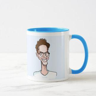 Mug blue Alexandre