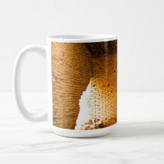 Mug brick wall