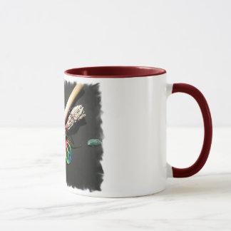 Mug Cannelure, paix et sauge