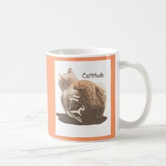 Mug- Cattitude double-sided Coffee Mug