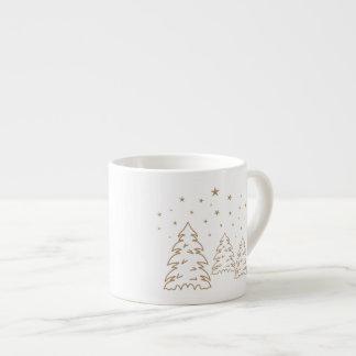 Mug Christmas Landscape Gold–Own Color
