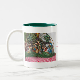 Mug/Christmas/Nativity Two-Tone Coffee Mug