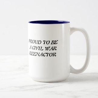 MUG, Civil War Two-Tone Coffee Mug
