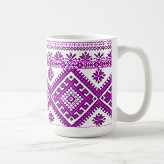 Mug Classic Ukrainian Purple Print