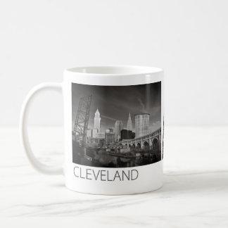 Mug - Cleveland black & white #1