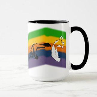 mug coffee capoeira martial arts axe roda