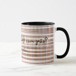 Mug coffee with bread
