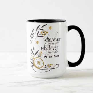 "Mug combo ""Wherever you go to whatever… """