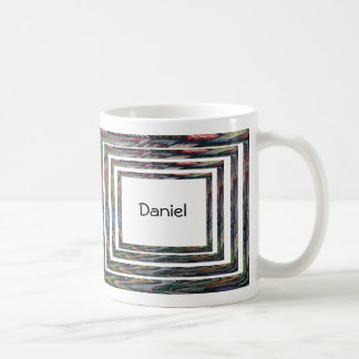 Mug - Concentric Frames with Name