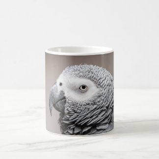 Mug Congo African Grey Grey Parrot