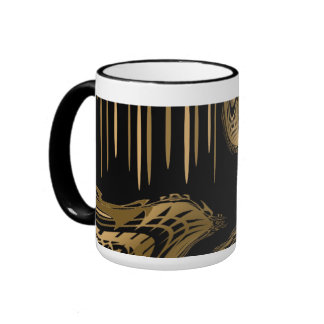 Mug Cup Black Gold Exotic Africa 2 Mug