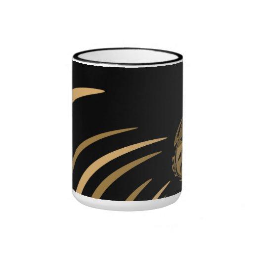 Mug Cup Black Gold Exotic Africa 3 Coffee Mug
